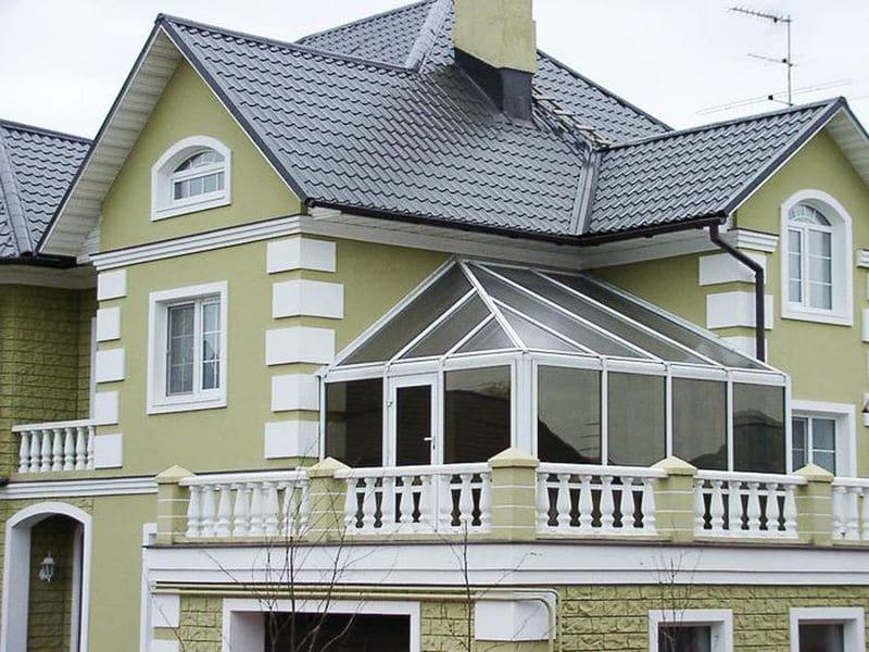 Фото окон балкона в частном доме..