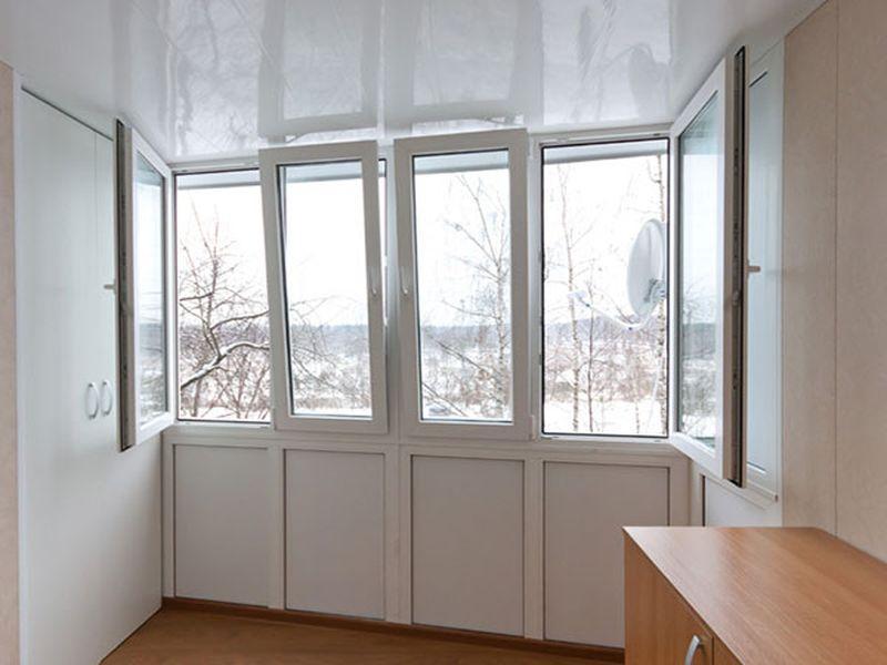 Установка окон пвх и балкона. - примеры ремонта - каталог ст.