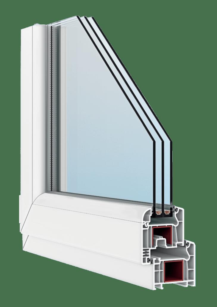Пластиковые окна FORTE 70