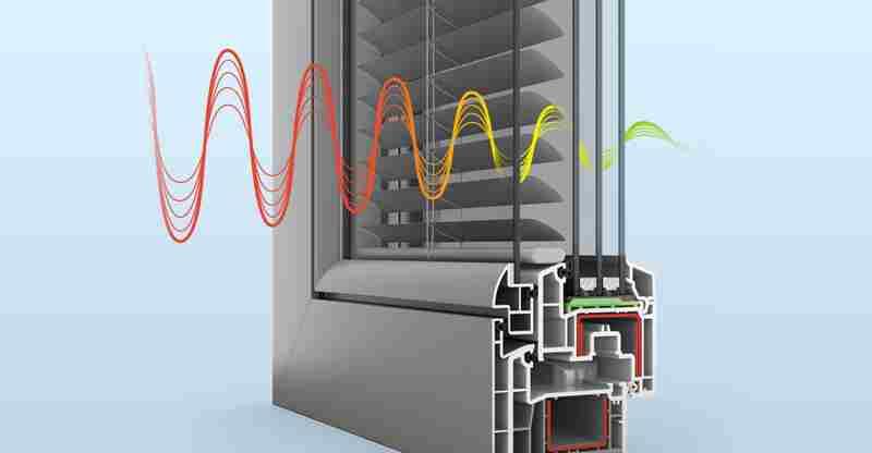 Выбираем окна пластиковые или алюминиевые - шумоизоляция