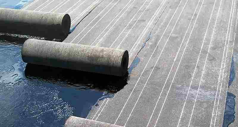 Защита балкона от дождя - рулонная гидроизоляция