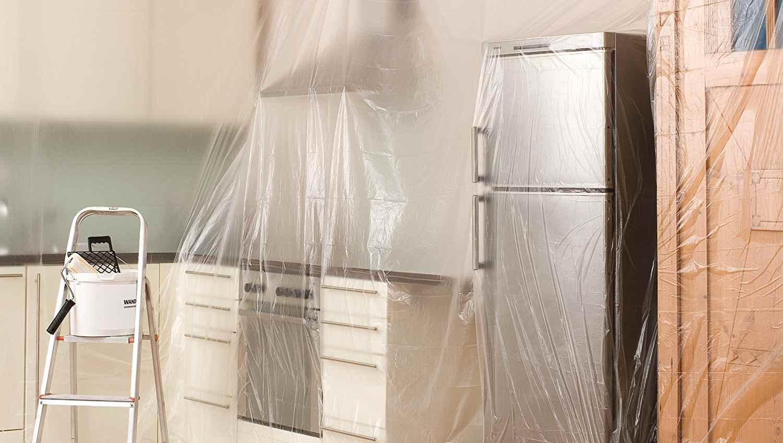 Как подготовится к установке окон - защита мебели