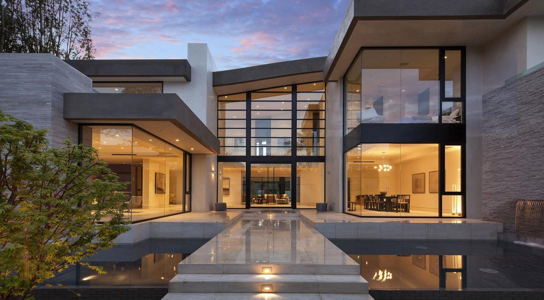 Архитектурный дизайн окон хай тек