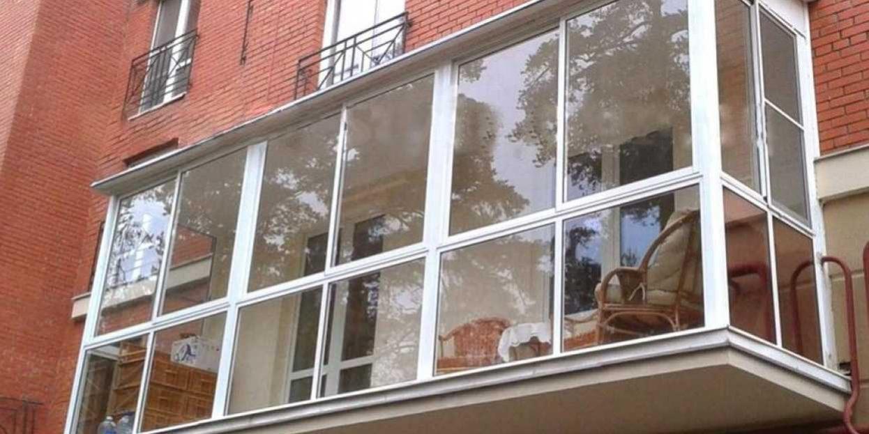 Замеры балкона