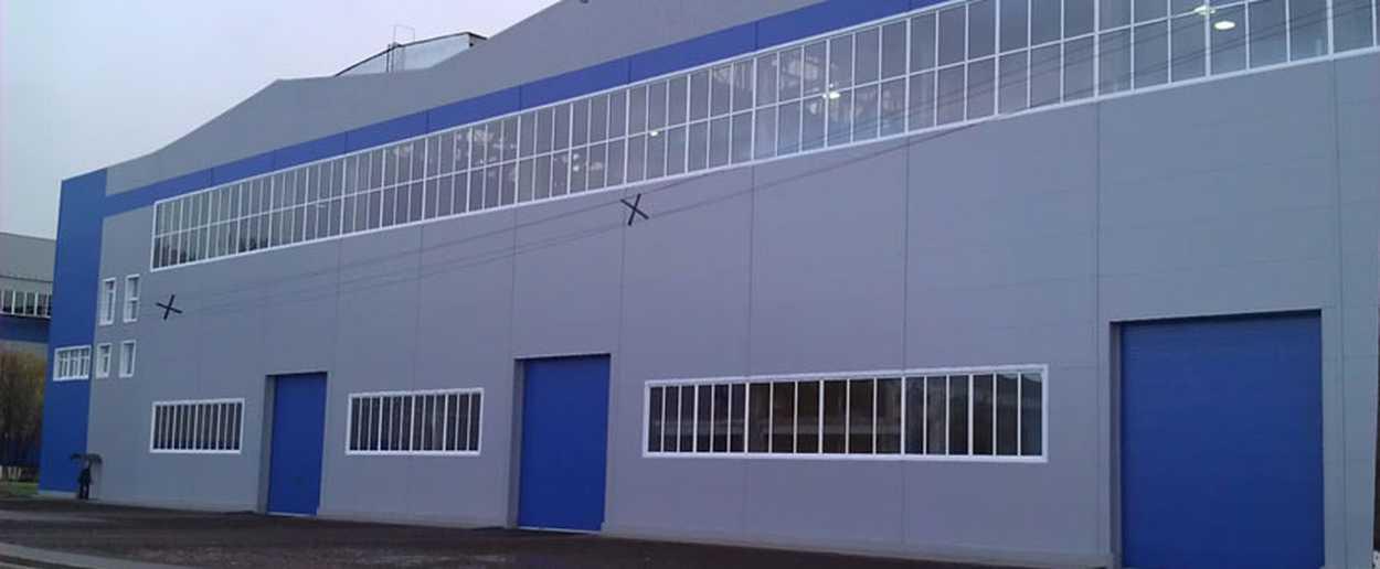 Пластиковые окна для промышленных зданий