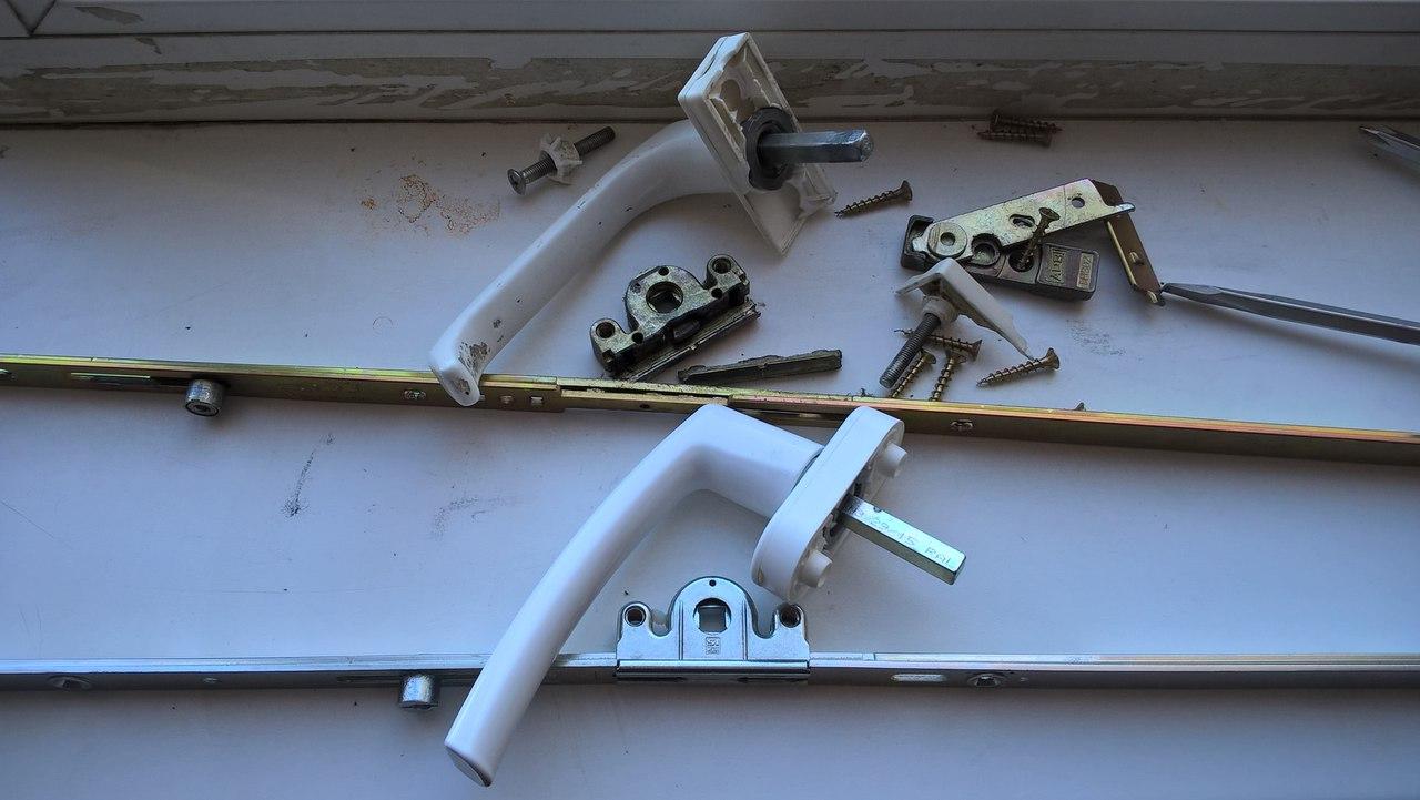 Замена фурнитуры в ПВХ-окнах