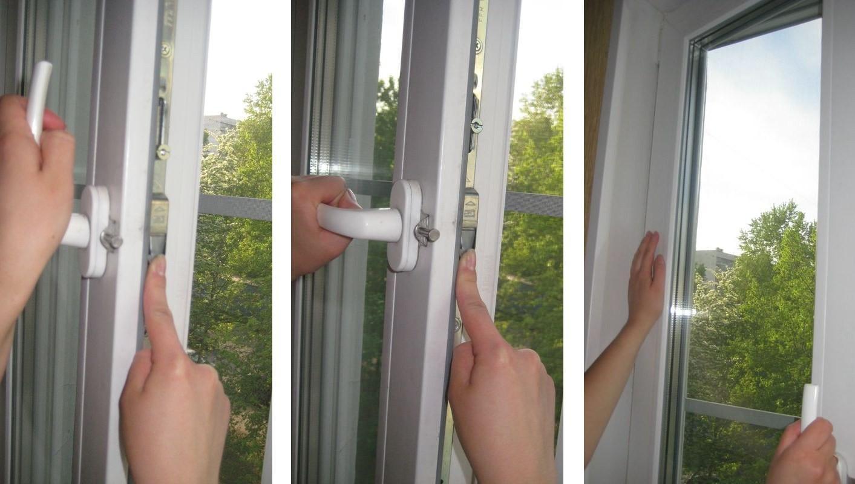 что делать если не открывается створка пластикового окна