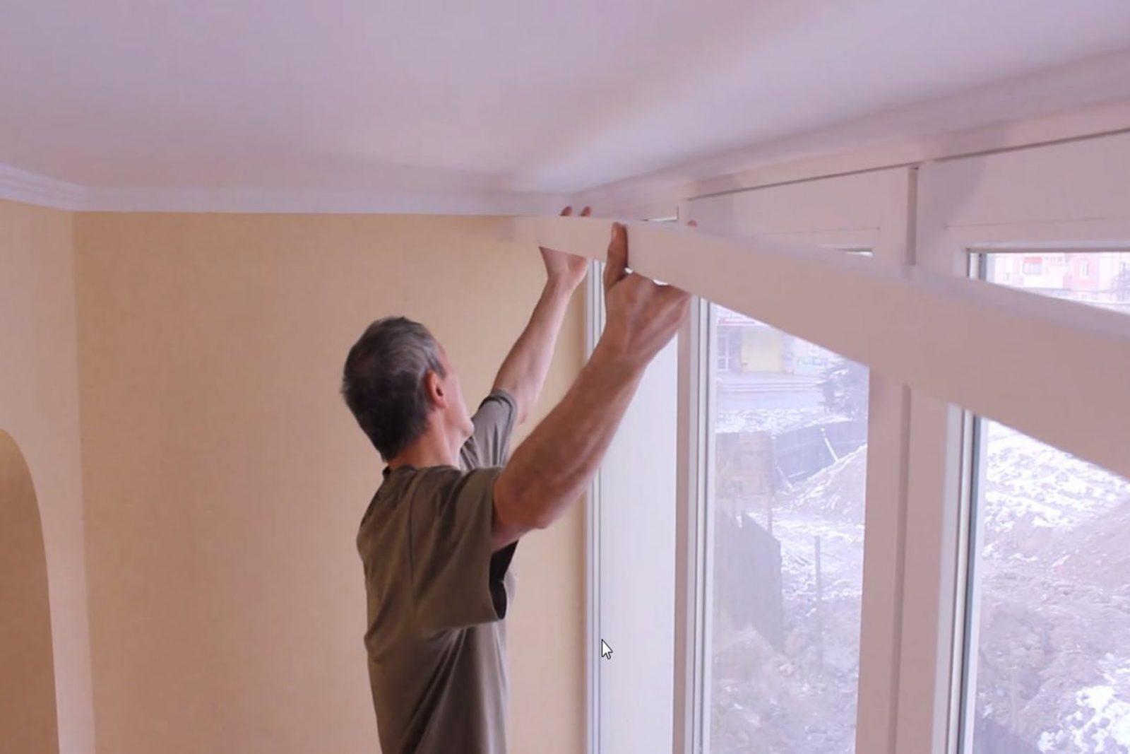 Что делать, если окна упираются в потолок?