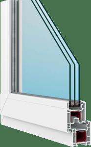 Пластиковые окна FORTE 58