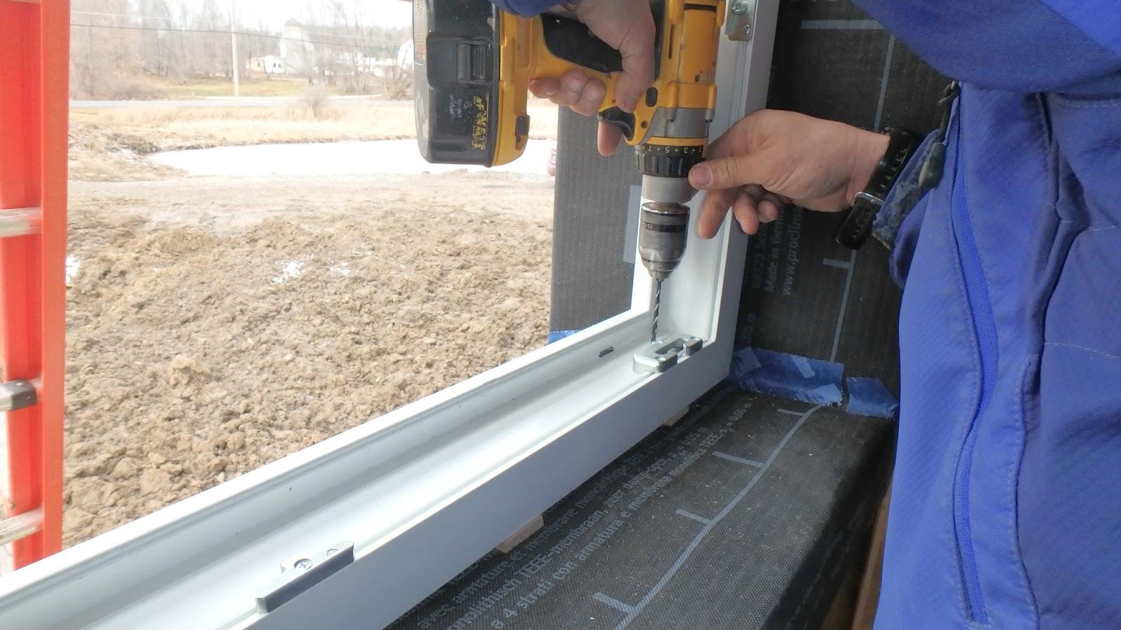 Варианты монтажа металлопластиковых окон в домах из кирпича