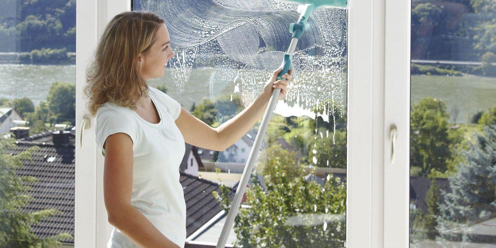 Как легко и безопасно вымыть окна снаружи