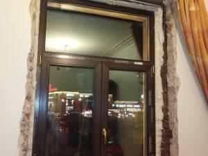 Ламинированное пластиковое окно