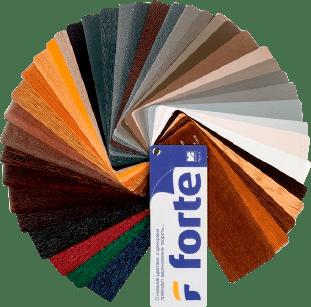 Цветовая палитра окон GEALAN