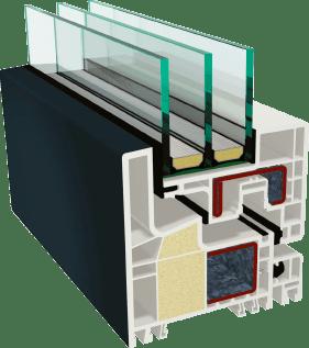 Пластиковые окна GEALAN-KUBUS