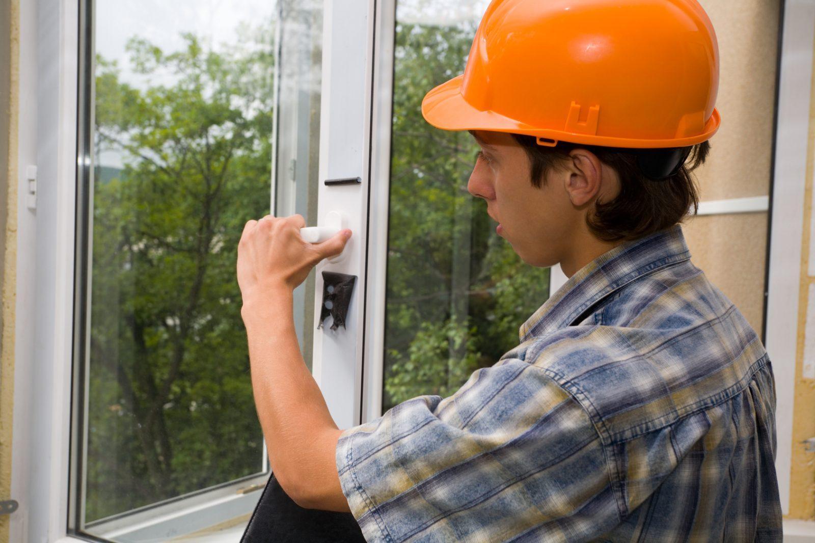 Приемка работы установки пластиковых окон