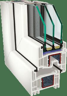 Пластиковые окна GEALAN S8000