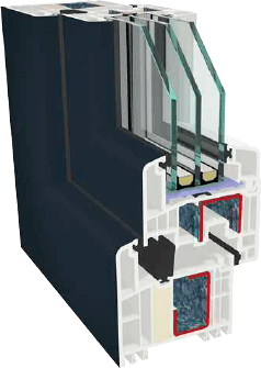 Пластиковые окна GEALAN S9000