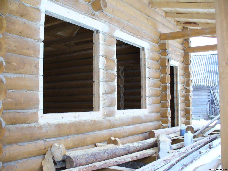 Окна в частном доме монтаж