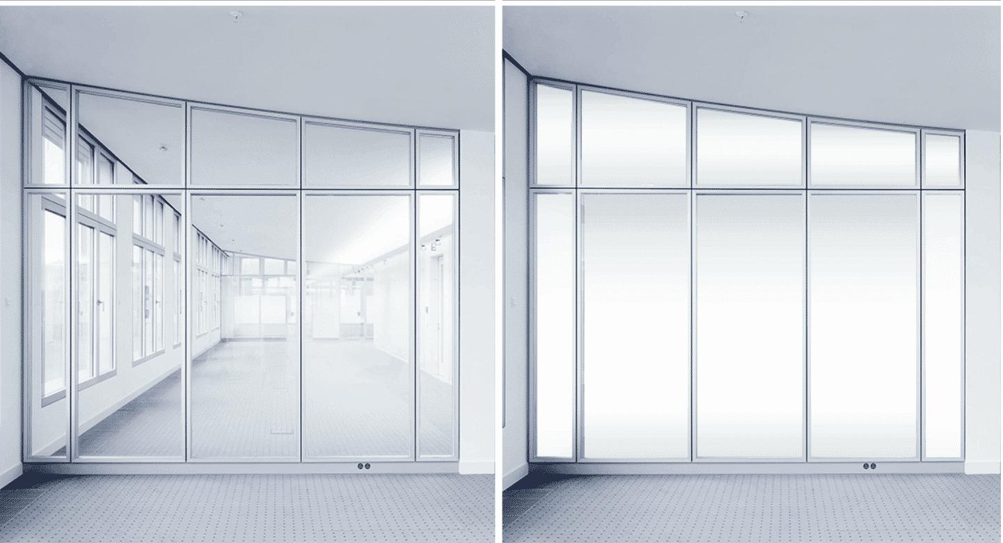 SmartGlass в пластиковых окнах: технология будущего