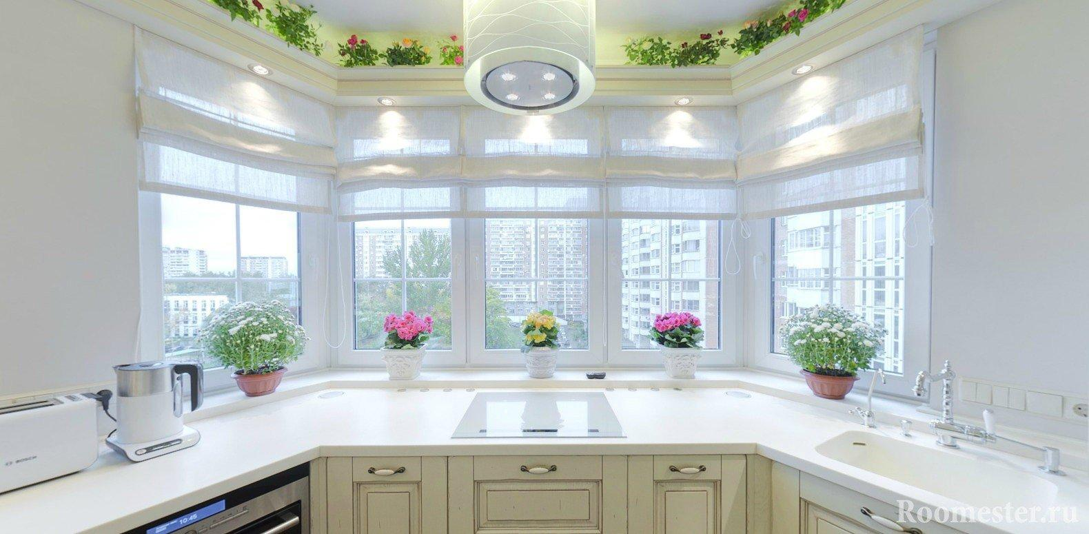 выбор пластиковых окон для кухни