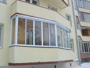 выбор остекления балкона